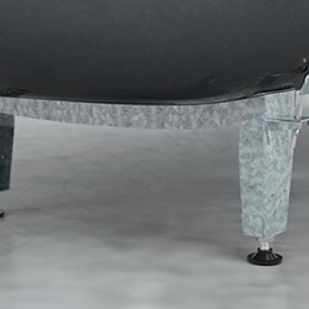 Ножки для стальной ванны BLB  APMROS100 дмитров ремонт ванной комнаты
